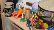 Musical instruments at Danybryn